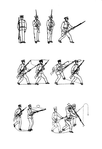 Xing Yi Quan bayonet techniques from Huang Bonian's book