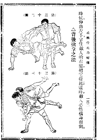 Chinese Translation of a Jiu Jitsu Manual 1920s